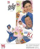 Adults Baby Costume **Pink/Blue Fancy Dress